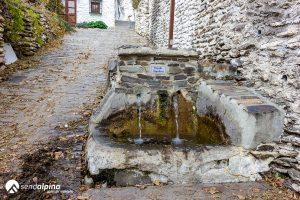 Fuente Hondera en Bubión