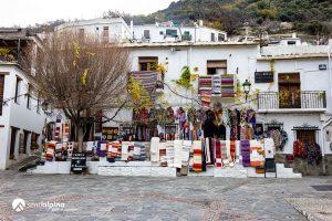 Plaza de Pampaneira