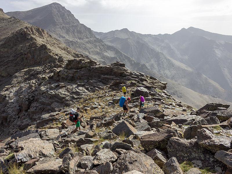 Integral de los 3000 de Sierra Nevada
